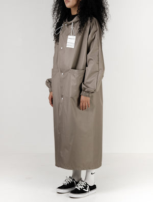 Ripstop Coat For Women- Stone
