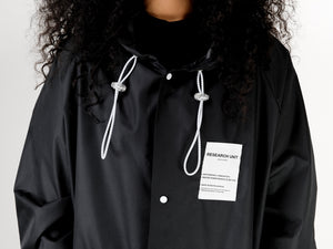 Ripstop Coat For Women- Black