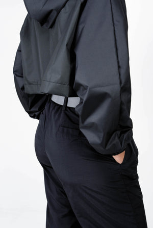 Ripstop Jacket- Black-Research Unit