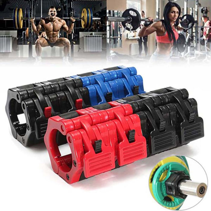 Quick Release Locking Olympic Weight Barbell Collars/Clips