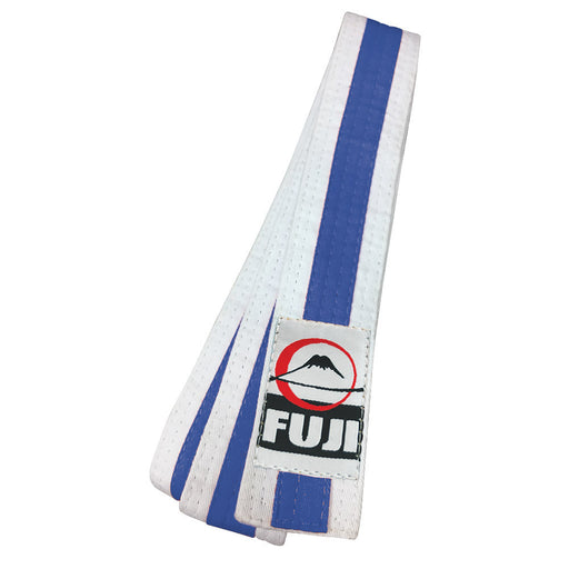 Fuji White Striped Rank Belts - Hatashita