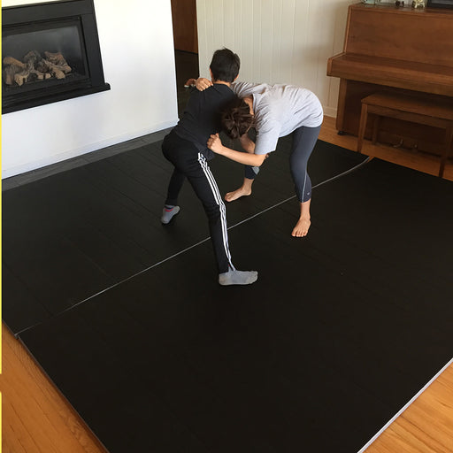 Hatashita Home Mat System - Smooth 10' x 10' - Includes 1 roll of tape - Hatashita