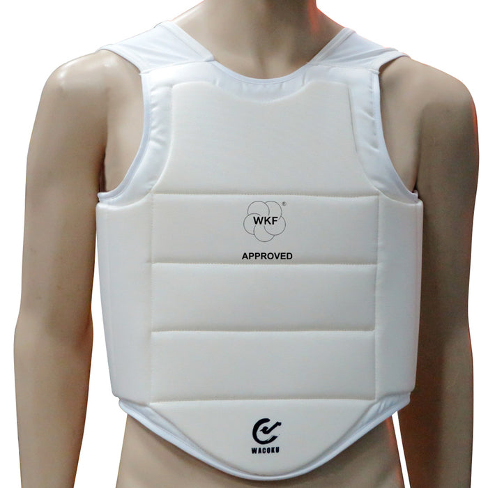 Wacoku WKF Approved Chest Protector - Hatashita