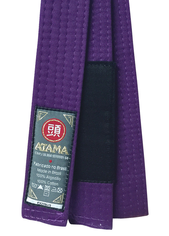 Atama Solid BJJ Rank Belt