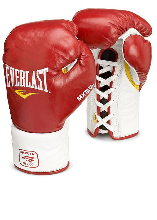 Everlast MX Pro Lace-Up Boxing Gloves