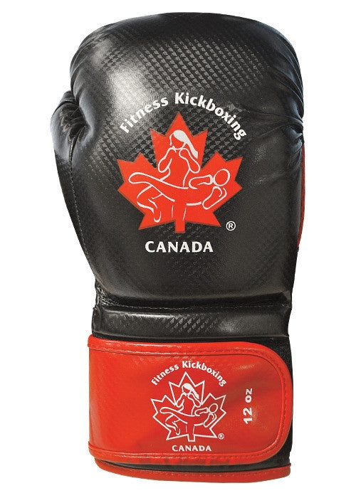 Fitness Kickboxing Canada 12oz. Training Gloves