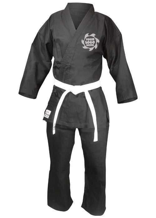 Fuji Custom - Super Middleweight Karategi Black - Hatashita