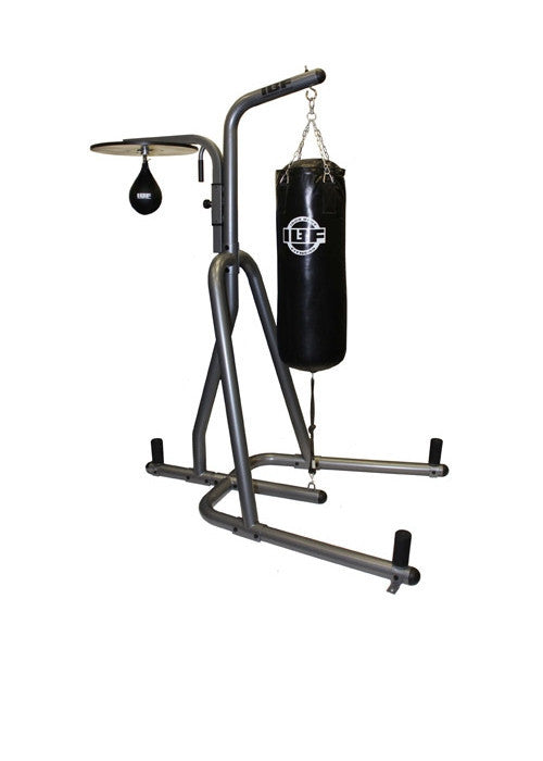 Iron Body Fitness IBF Heavy Bag Stand and Speed Bag Platform