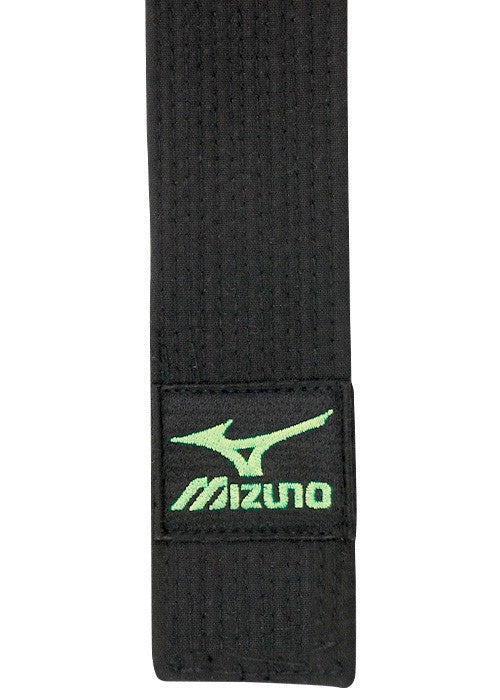 Mizuno Black Belt (Green Logo) - Hatashita