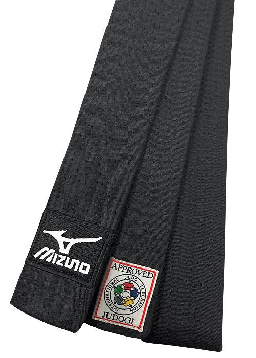 Mizuno Silver Label 2015 IJF Black Belt