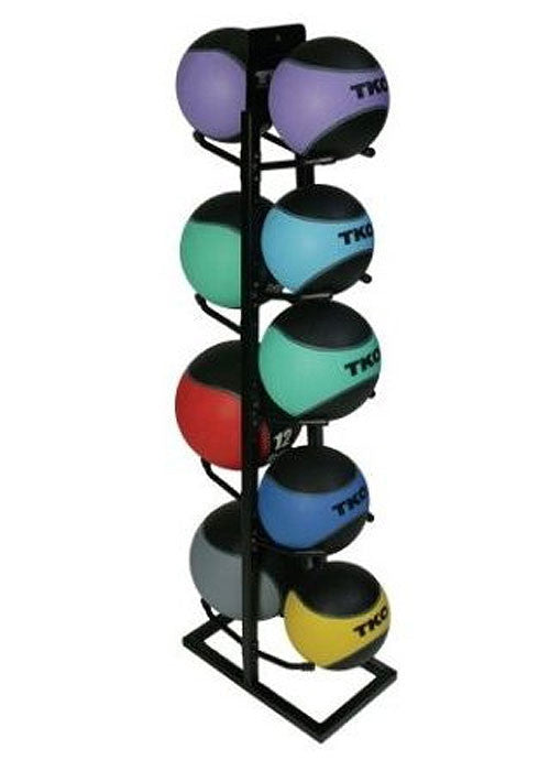 Iron Body Fitness IBF Medicine Ball Rack