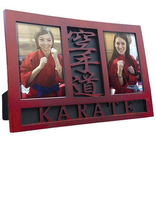 Hatashita Wood Karate Photo Frame - Hatashita