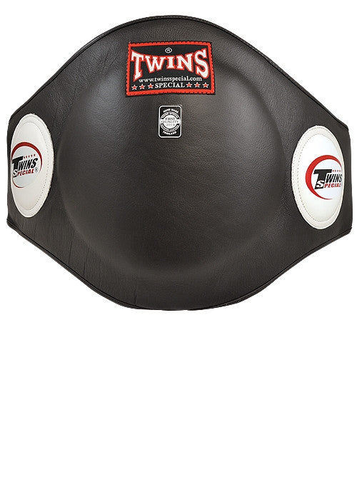 Twins Special Leather Boxing Belly Pad - Hatashita