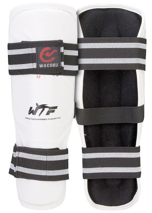 Wacoku WTF Shin Guards - Hatashita