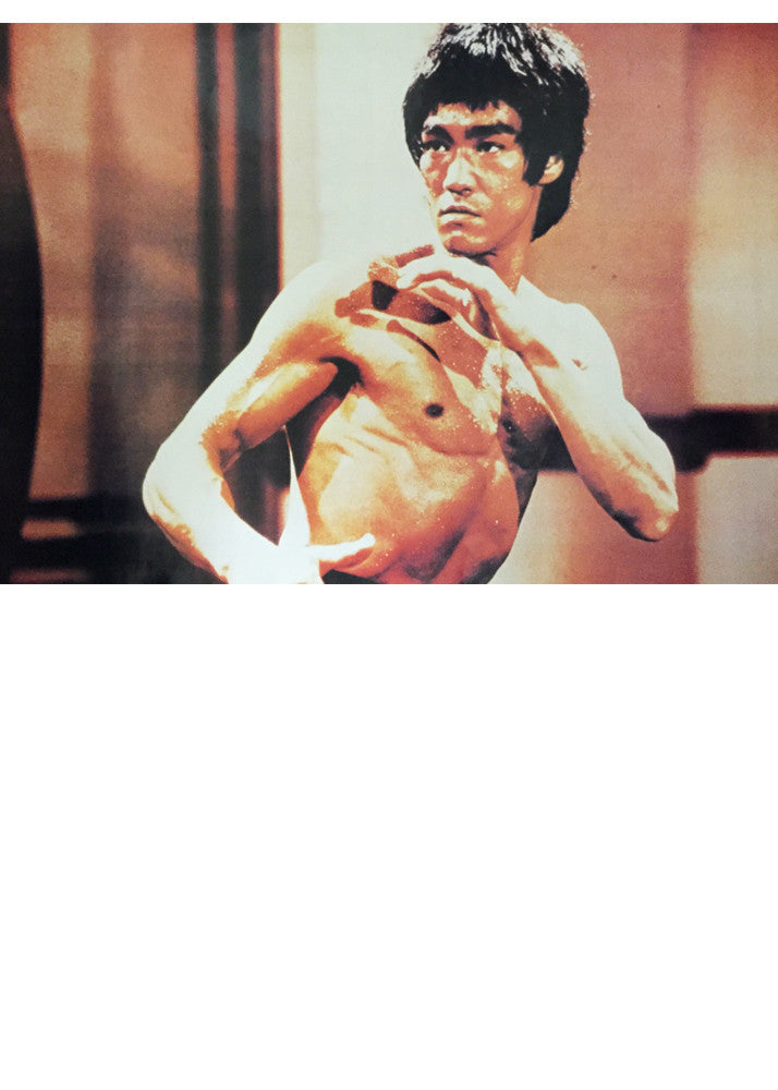 Wacoku Bruce Lee Poster - Stance