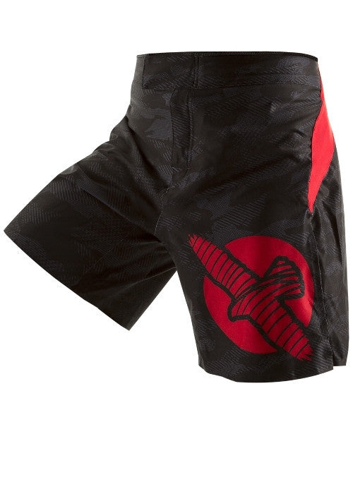 Hayabusa Weld3 Fight Shorts - Black/Red