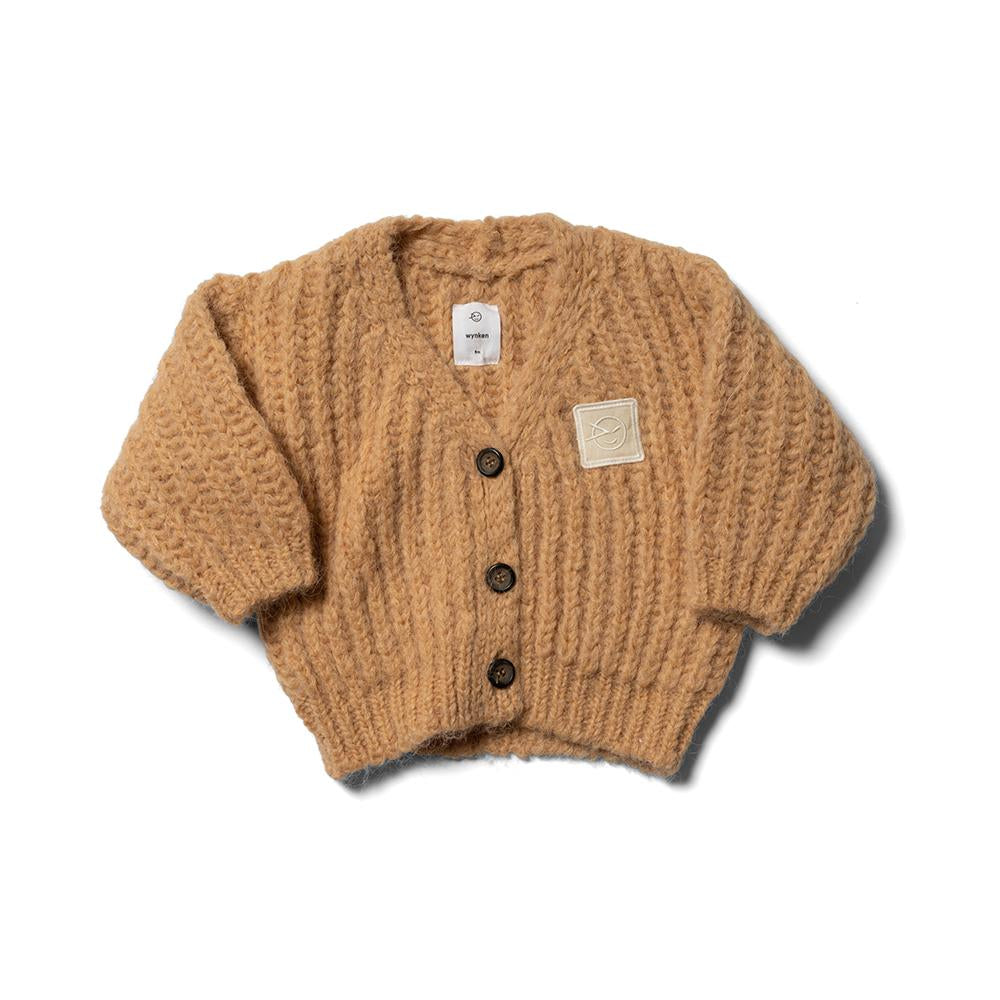 Baby Big Rib Cardigan - Buttermilk