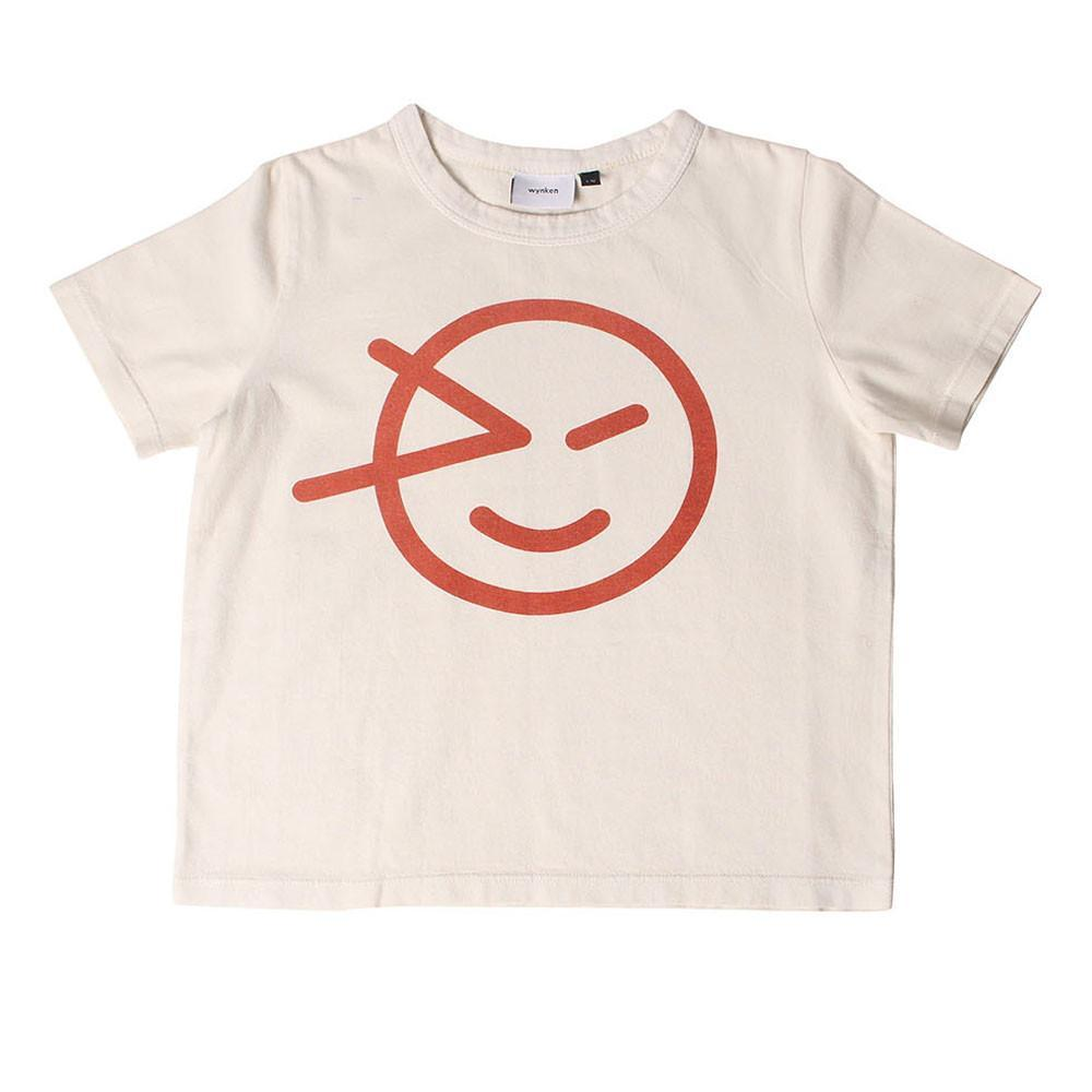 Wynken Tee - Orange / Chalk