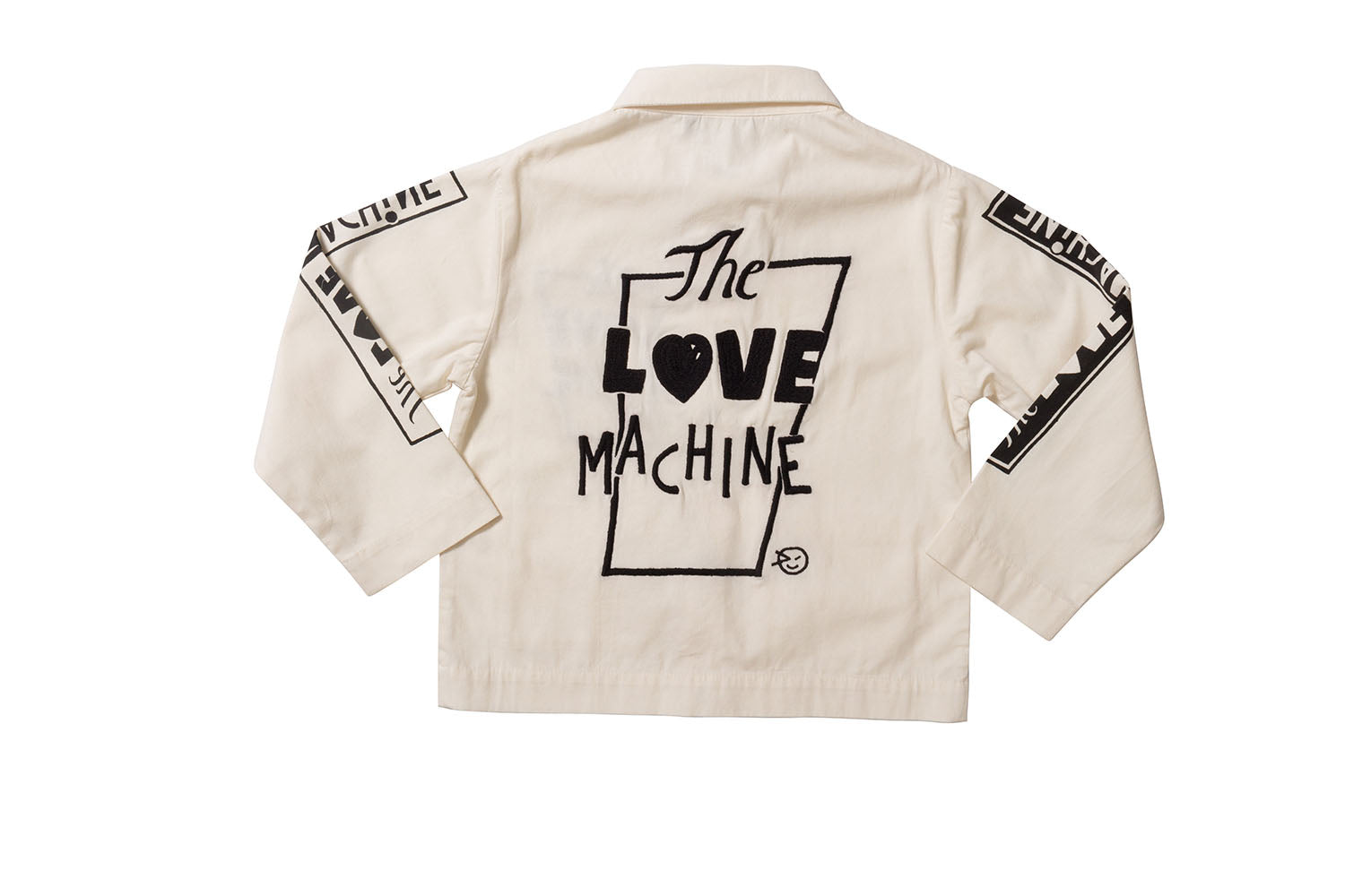 Love Machine Jacket - Ecru/Black