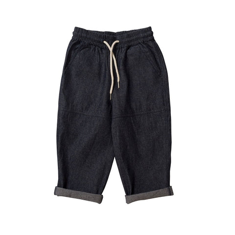 Drawcord Pant - Denim