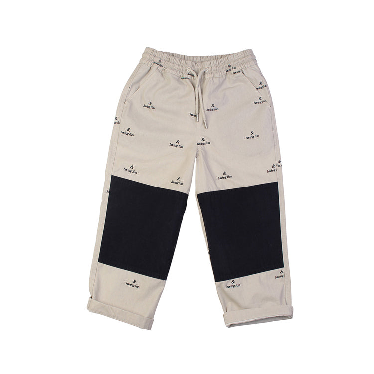 Patch Pant - Stone