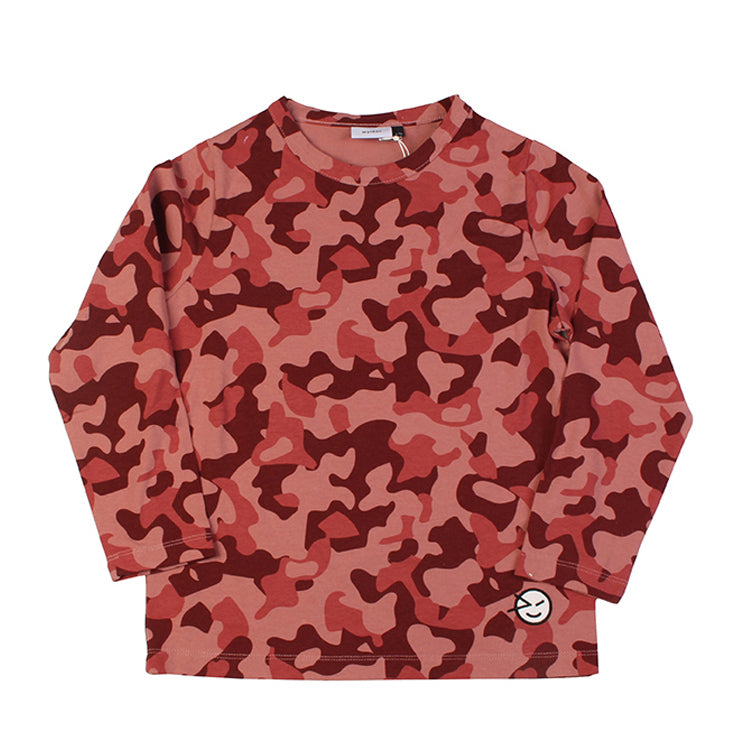 Animal Cammo Long Sleeve Tee - Apache