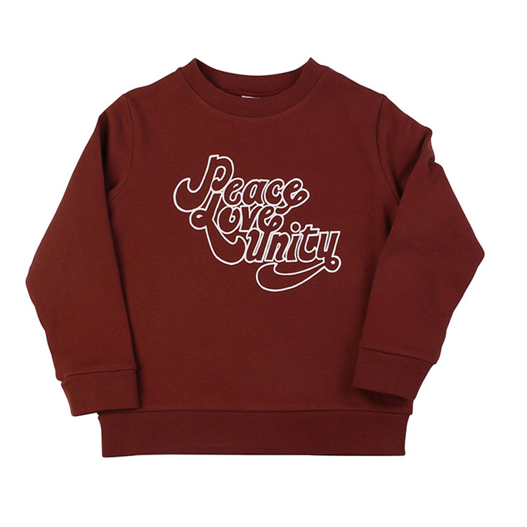 Peace Love Unity Sweat - Apache Red