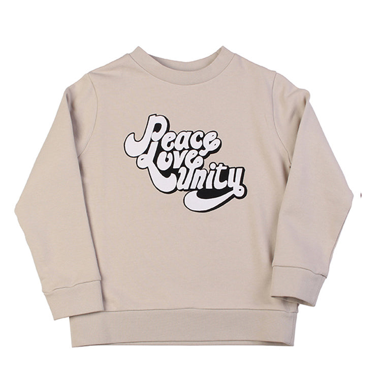 Peace Love Unity Sweat - Stone