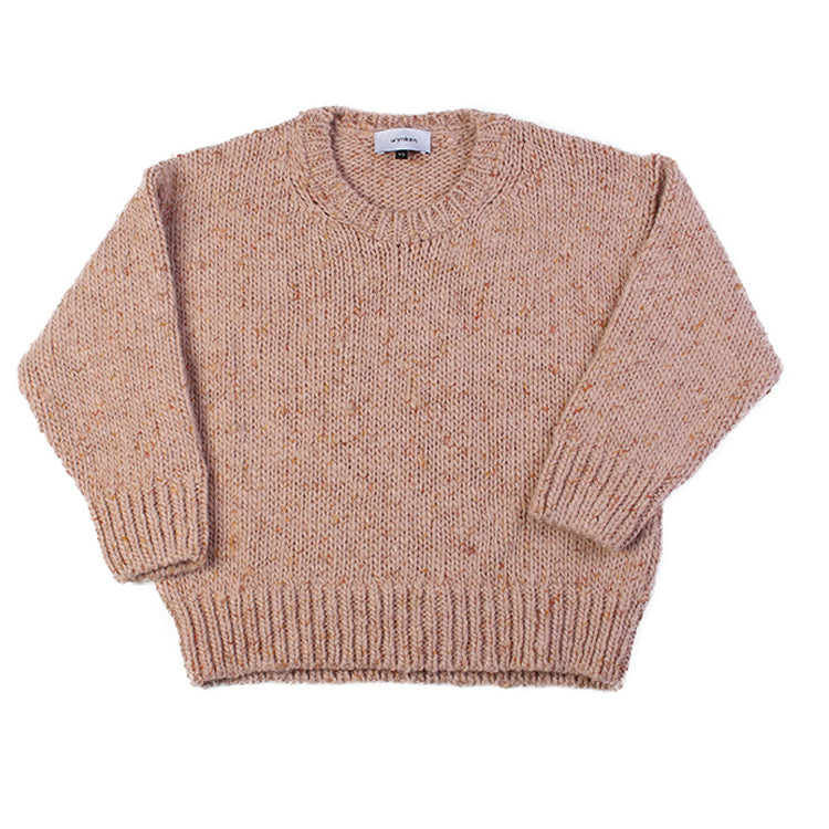 Slouch Knit Jumper - Doe Pink