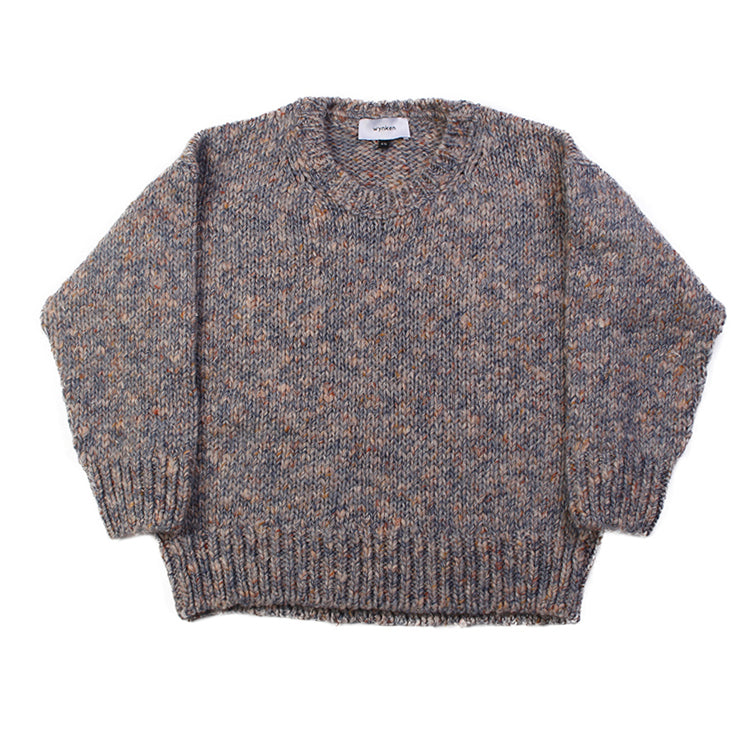 Slouch Knit Jumper - Ice Blue