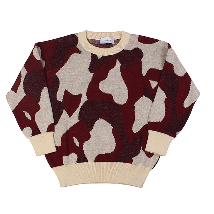 Animal Cammo  Jumper - Apache Red