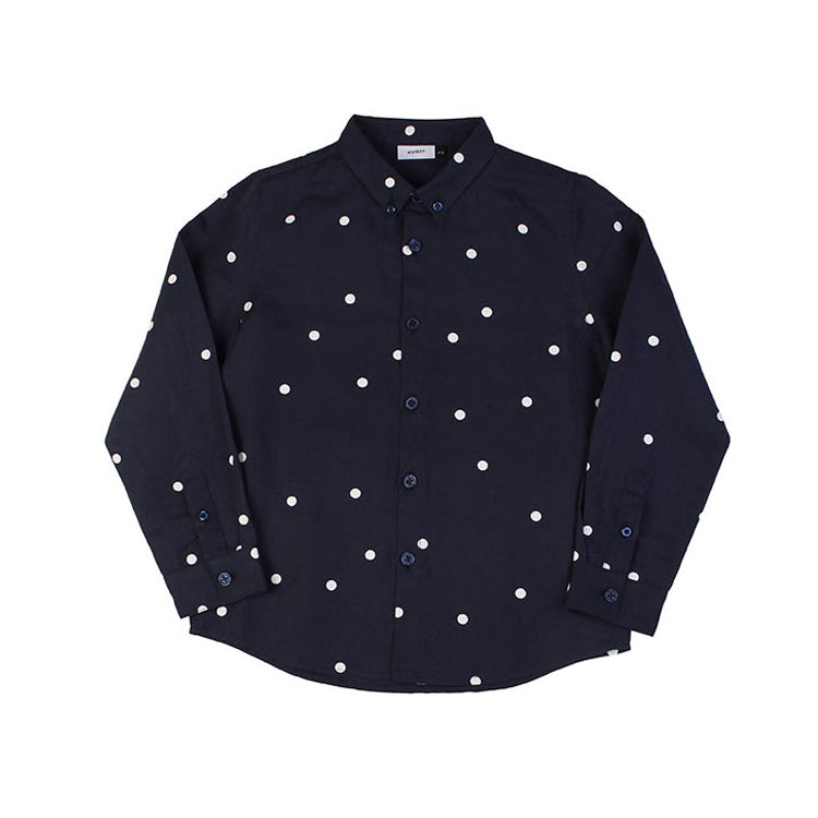 Apache Shirt - Navy Dot