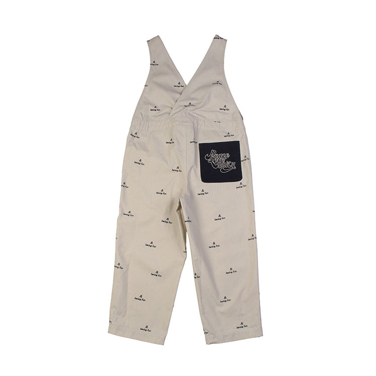 Dance Dungaree - Stone