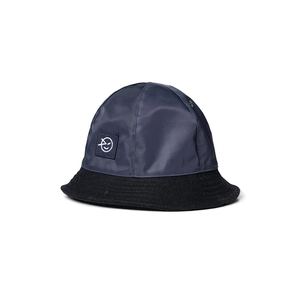 Herbie Bucket Hat - Navy Melton