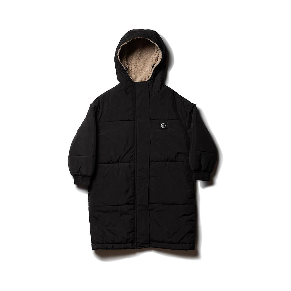 Puff Up Long Puffa - Black