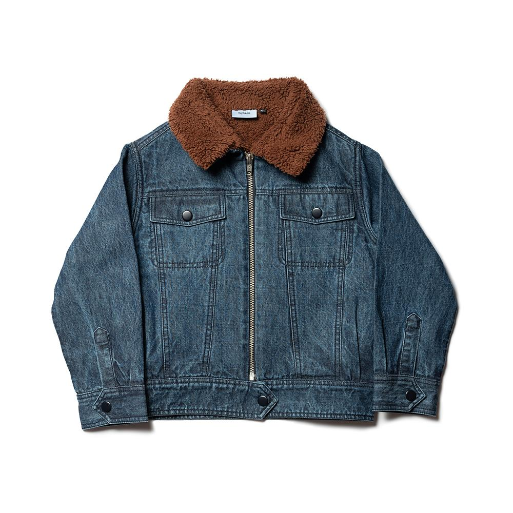 Batafurai Jacket - Dark Bleached Denim