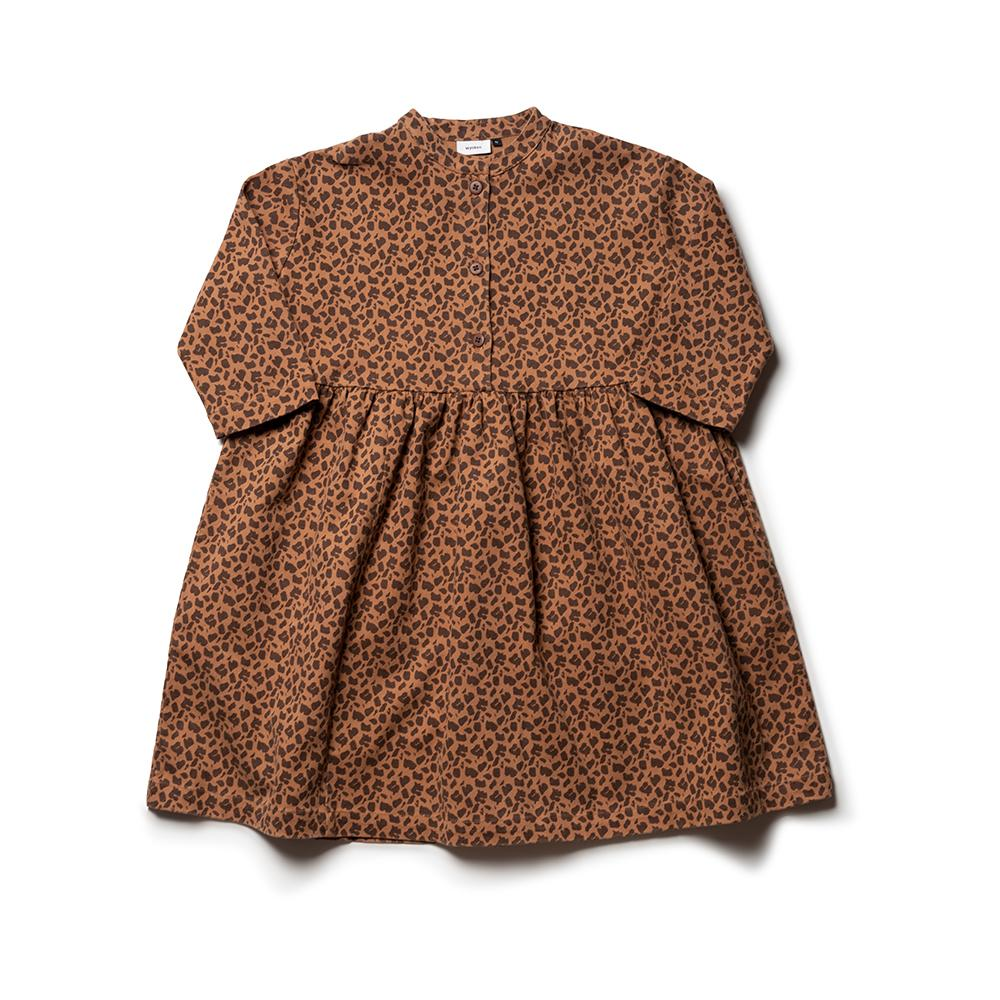 Batafurai Dress - Caramel Dark Acer