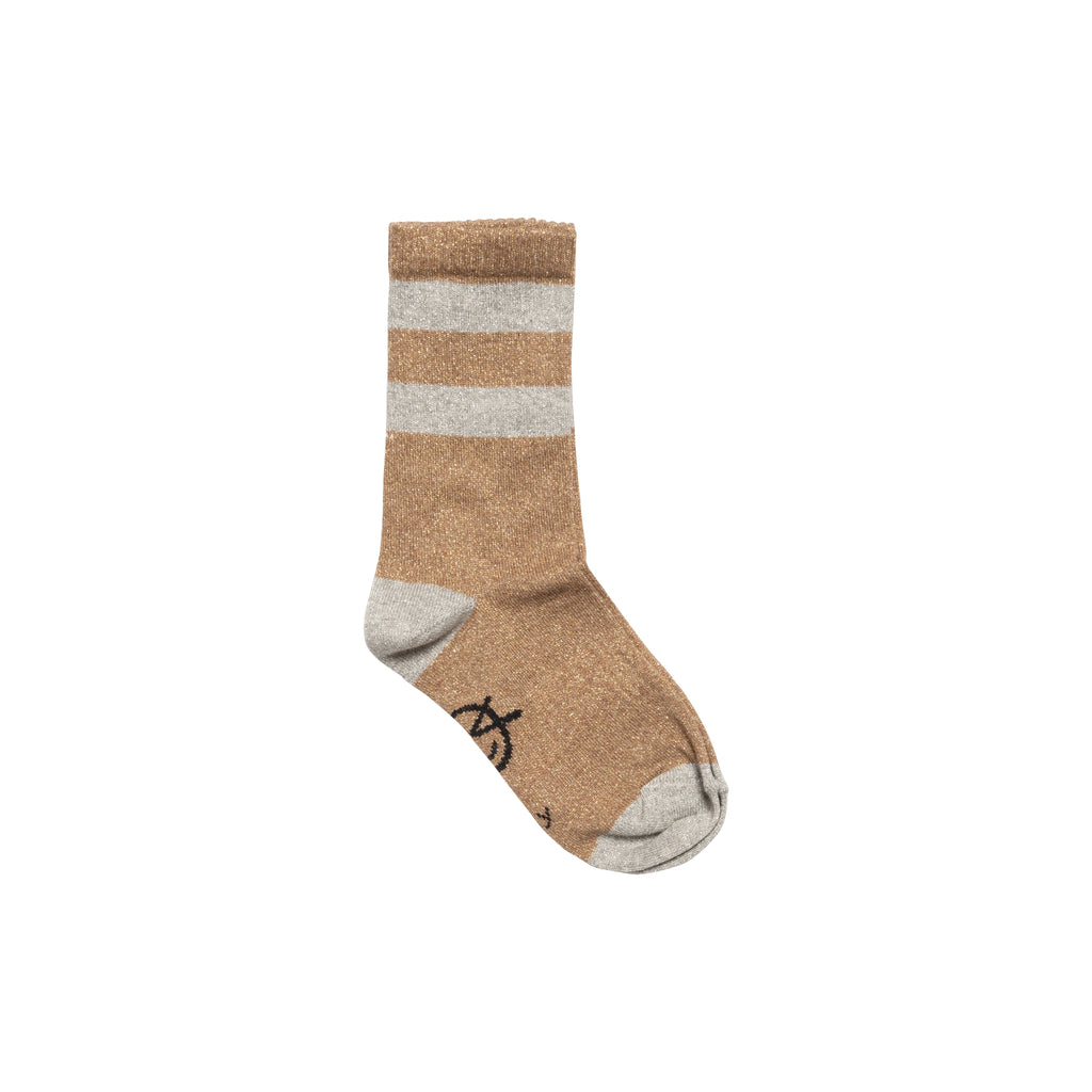 Sparkle Sports Sock - Gold / Silver