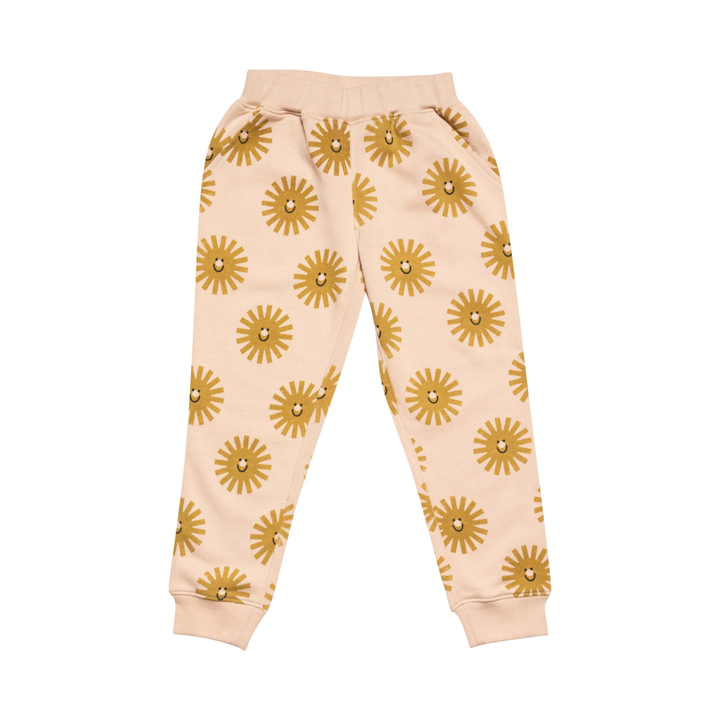 Slouch Sweat Pant - Pink / Golden / Black