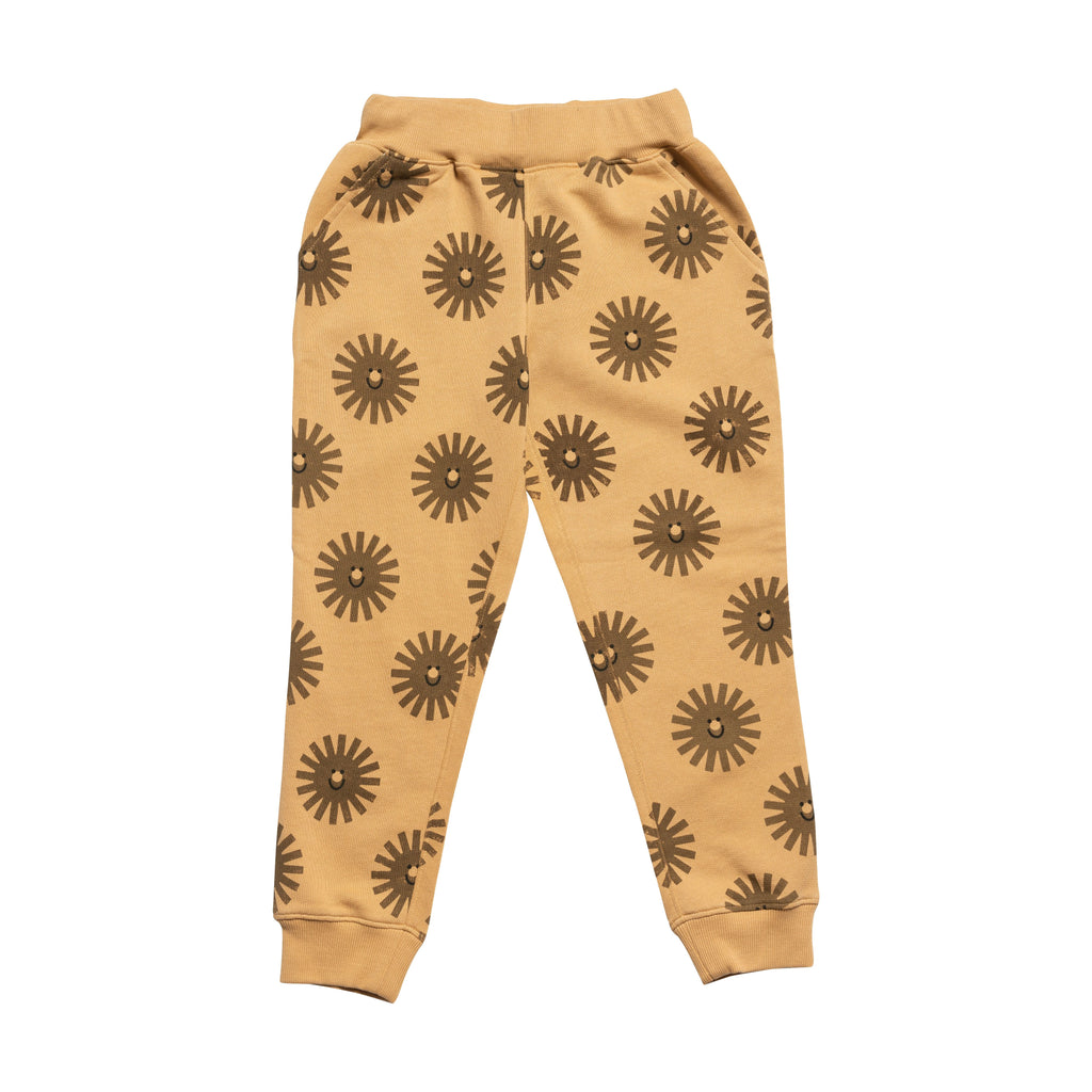 Slouch Sweat Pant - Sand / Bronze / Black