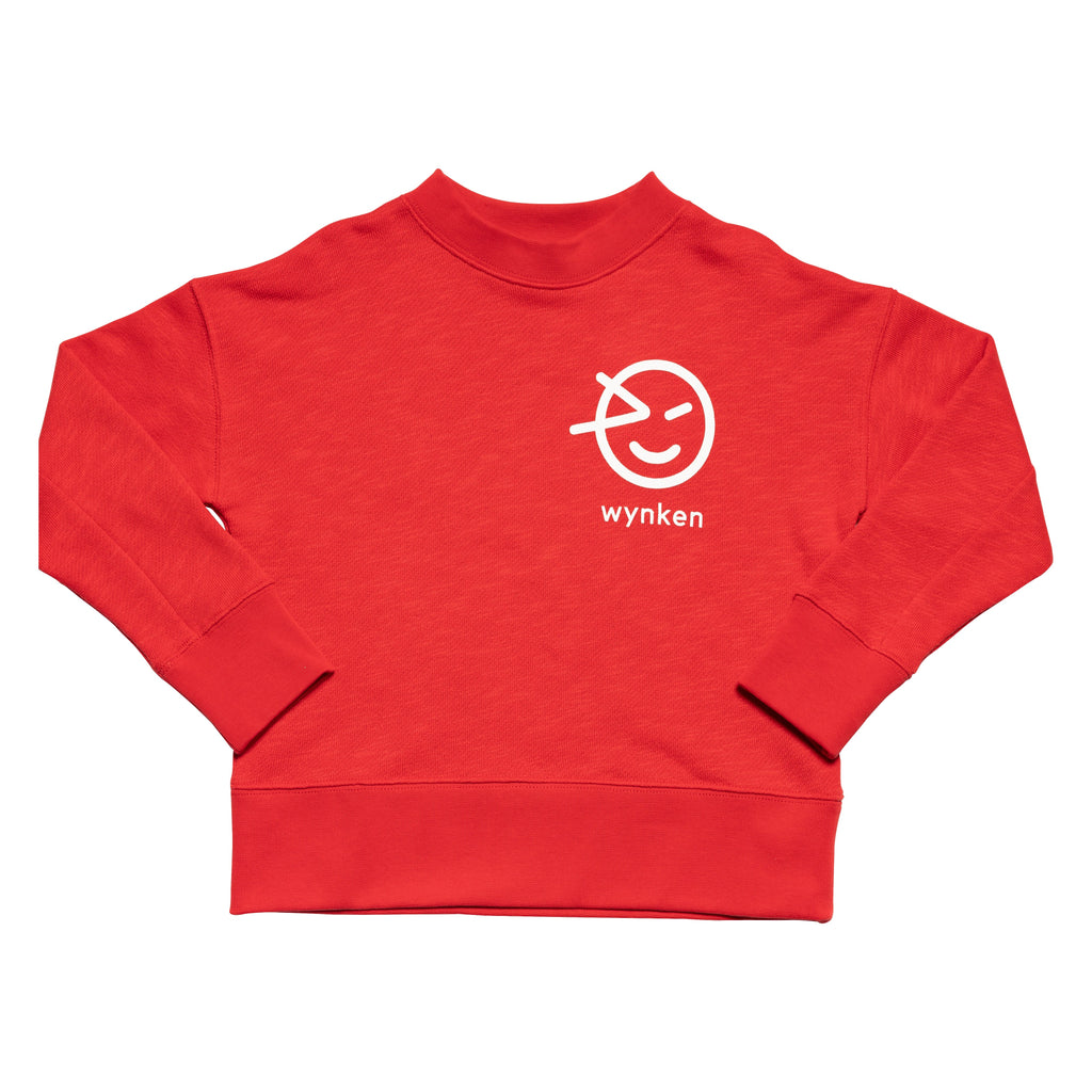 Wynken Slouch Sweat - Red