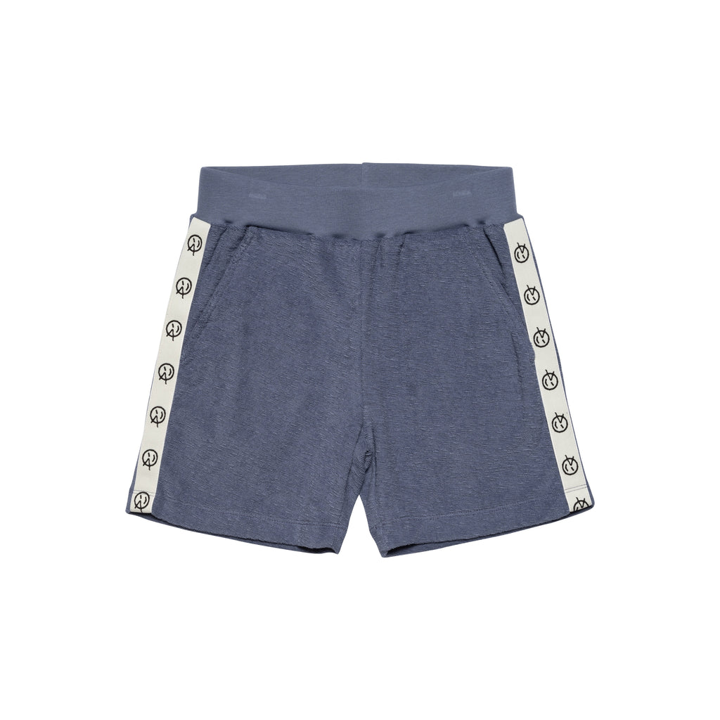 Track Short - Blue Terry