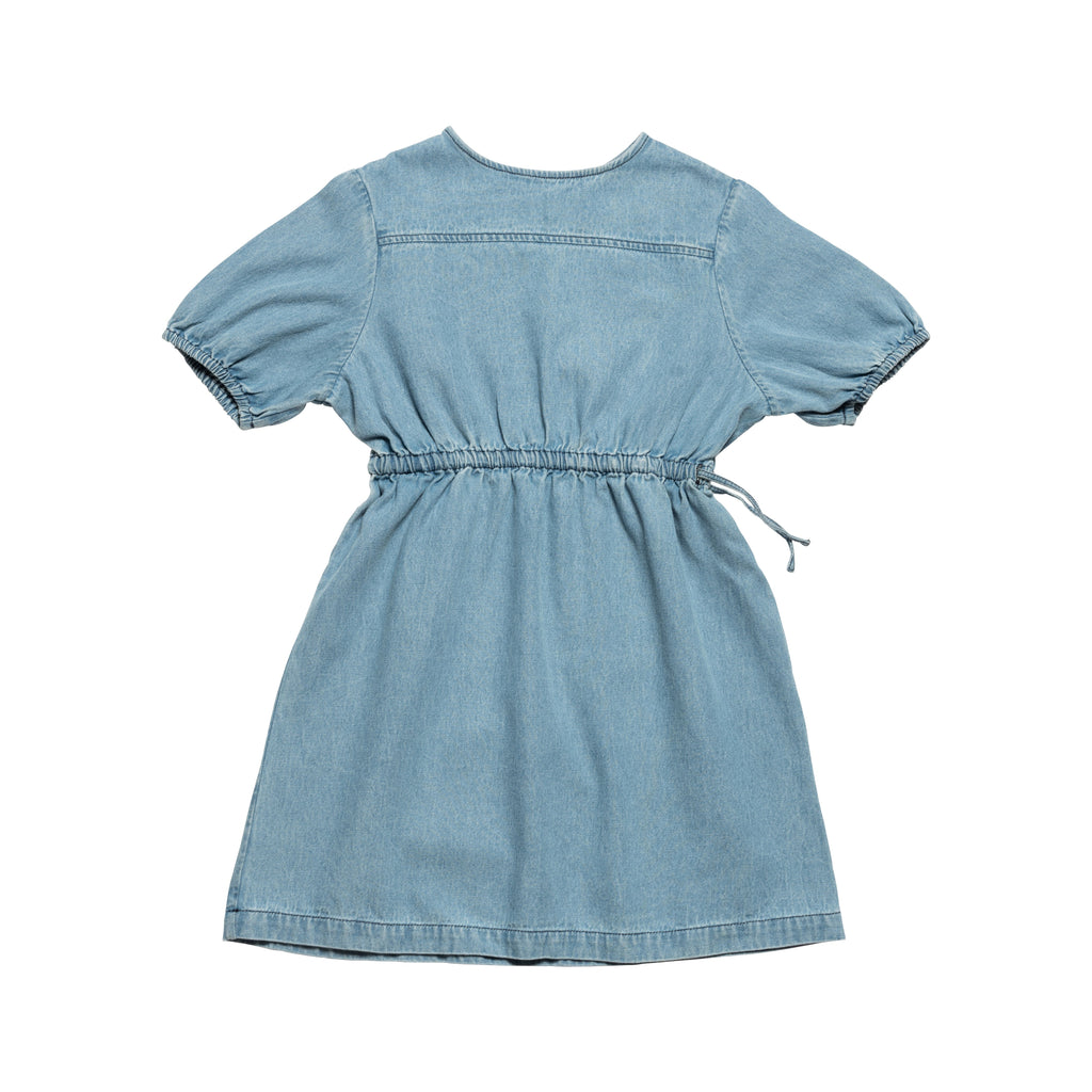 Ayers Dress - Bleached Denim