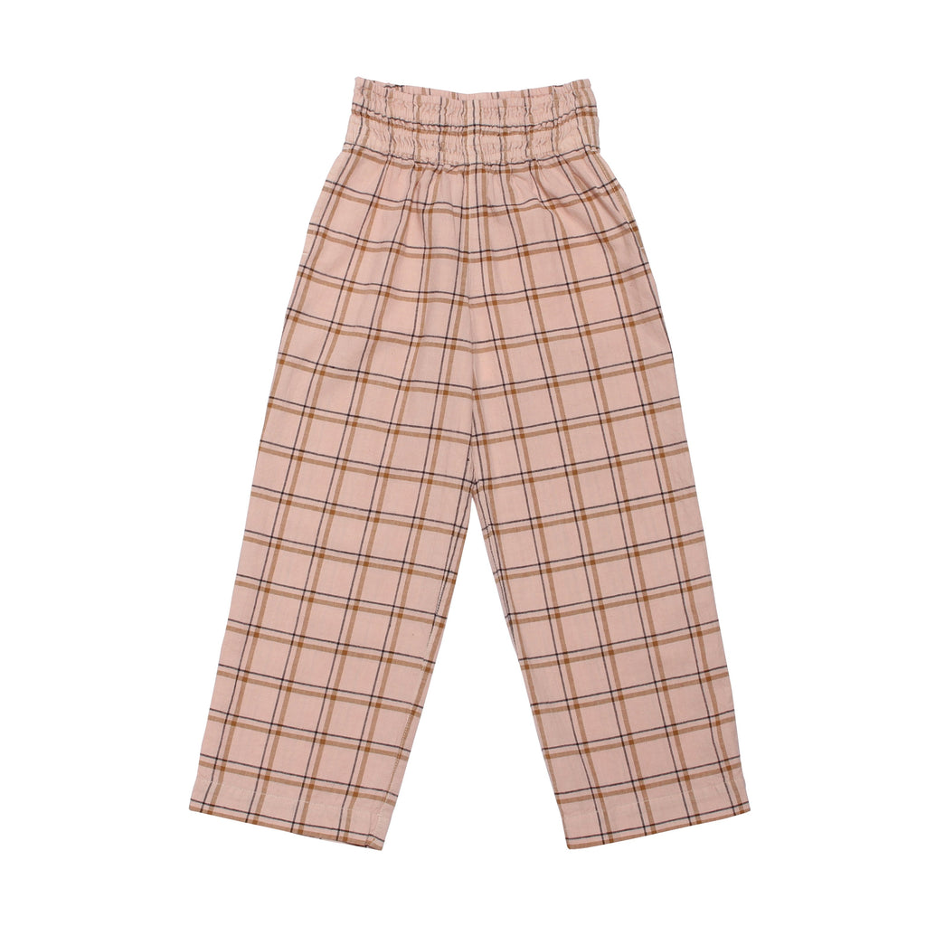 Ubiquity Pant - Dust Pink Check