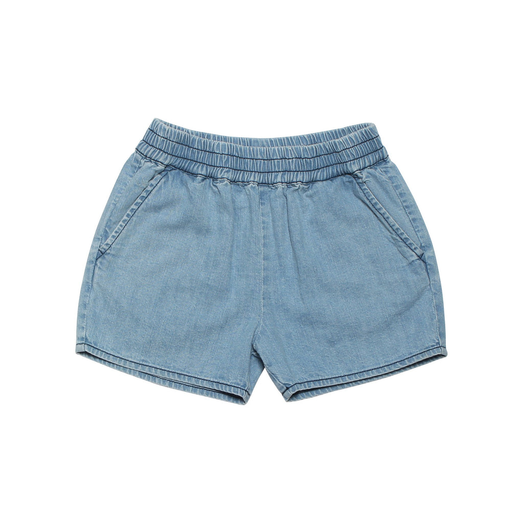 Habana Short - Light Bleached Denim
