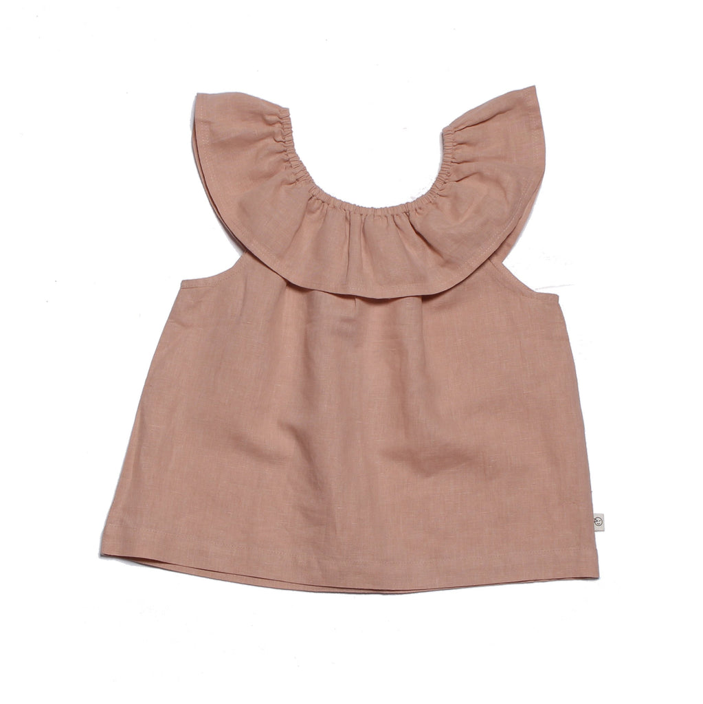 Flamenco Top - Pink