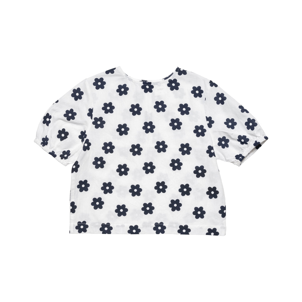 Ayers Top - White/Navy