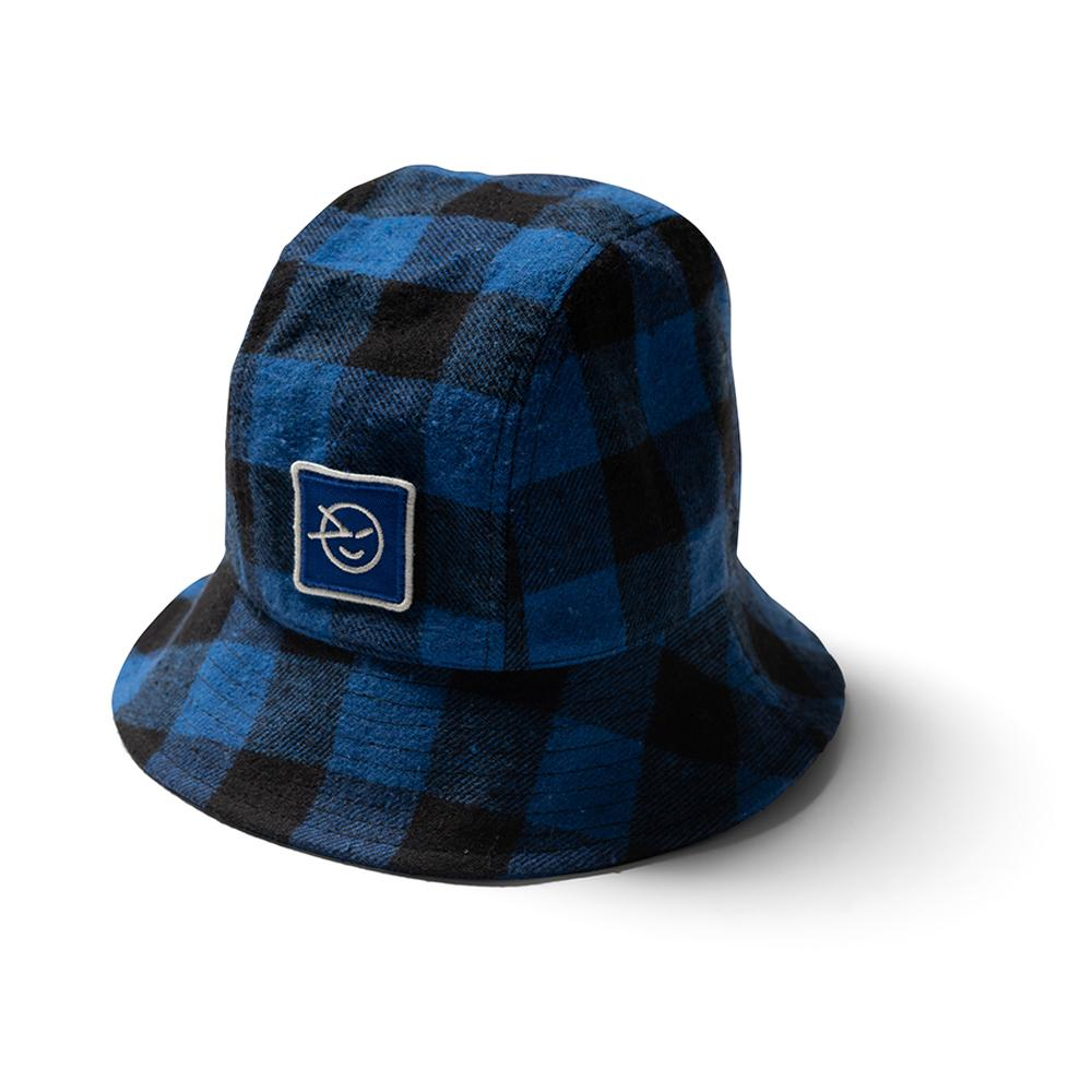 Tom Bo Bucket Hat - Blue Check