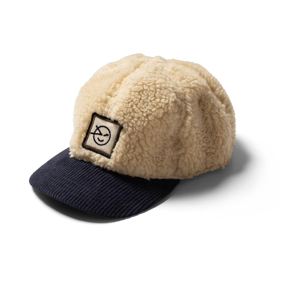 Badge Cap - Oatmeal / Navy Cord