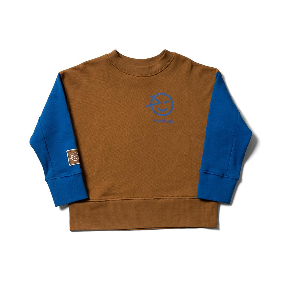 Wynken Mix Sweat - Otomi Blue / Rubber